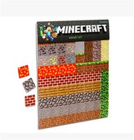 Wholesale My world Minecraft rubber sleeve mounted refrigerator magnets