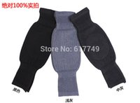 Wholesale Lengthen thickening cashmere knee pads winter thermal leggings knee wool knee support