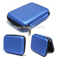 2015 Date bleu dur Carry Case Housse pour 2,5 USB HDD WD External Hard Disk Drive Protector Protéger Sac boîtier