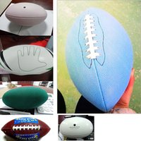 Wholesale High Quality Pvc Leather Machine Sewing Rugby g Color Outdoor Sports England Football