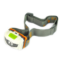 Wholesale Portable CREE R3 Headlamps LED Flashlight Headlights Outdoors LM Headlight With Headband Hiking Camping Torch