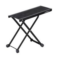 adjustable iron stool - Andoer FT E25 Foldable Adjustable height Guitar Foot Rest Stool Anti Slip High Quality iron order lt no track