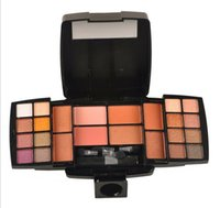 apply green eye shadow - W1056 Mineral Make Up Eye Shadow Palette Color Eye Shadow Blusher Series Shimmer Series Fine Powder Easy To Apply