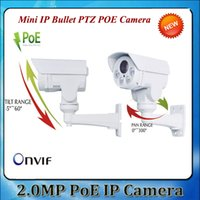 Wholesale 2015 NEW MP X IP66 Waterproof P with POE Bullet PTZ IP Camera Hot Sell CCTV