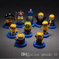 figurines - 100sets LJJC2144 Hot Sale McDonalds Minion Bob Toy Minions Movie PVC Action Figures Despicable Me Anime Figurines Figure Set Kids Toys