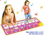 Wholesale Hot Sale x36cm big size baby music carpet baby music mat Baby Kid Child Piano Music