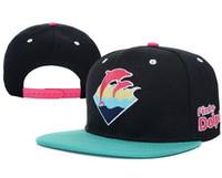 Wholesale Pink Dolphin Leopard snapback hats Casquettes baseball caps hats bone aba reta hip hop cap bones snapback hats