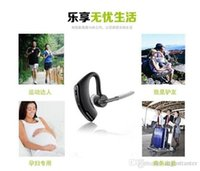 Wholesale 2015 Bluetooth Headset Voyager Legend With Text And Noise Reduction Stereo Headphones Earphones For Iphone Samsung Galaxy HTC