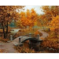 best digital frame - The Best Pictures DIY Digital Oil Painting Paint By Numbers Christmas Birthday Unique Gift Wall Art x50cm Maple Million D174