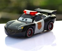 Wholesale 2016 Pixar Cars McQueen police sergeant Scale Diecast Metal Alloy Modle Cute Toys For Children Gifts