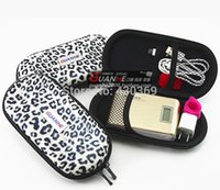 Wholesale Leopard HDD Case External Hard Drive Case Bag Protect Bag For External Hard Drive Disk Phone Camera Mp5 Electronic Cigarette