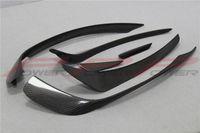 Wholesale 6pcs Set Carbon Fiber Front Bumper Canard For Mercedes Benz W176 A Class A250 A260 A45 Amg