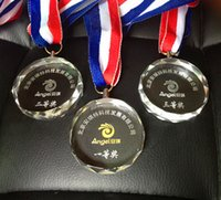 sport companies - Direct custom crystal trophy medals listed small school sports competitions award medals to commemorate the company awards