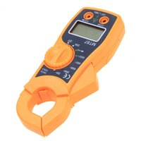 amp resistance - Mini LCD Digital Multimeter Clamp Meter Data Hold AC DC Voltage Amp Resistance Multimeter