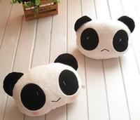 Wholesale car headrest Super cute panda cartoon neck pillow Lovely car head pillow pillows Auto supplies