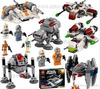 Wholesale Star Wars Stromtrooper Army Snow Speeder Starfighters Figures Building Blocks Newest set Minifigures Bircks Toys