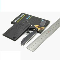 Cheap 10pc lot 2016 new creative finger knife credit card knife multifuction tools boutique knife gift knife