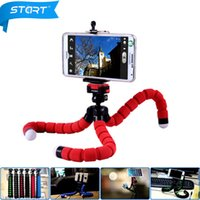 accessories adjustable legs - Smartphone Holder Flexible Octopus Leg Tripod Bracket Selfie Stand Mount Monopod Adjustable Accessories For All Phone GZJ18