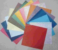 Wholesale 10 cm colors pattern Photo Album Cardboard Gift Packing Crepe Paper Diy Handmade Paper