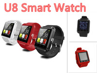 Wholesale For Smartphones U8 Smart Watch Phone Mate Fashion Bluetooth WristWatch with Phonebook Call MP3 Alarm For iPhone S Android Samsung S5