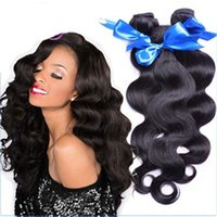 Wholesale Brazilian Body Wave Hair Weaves A Grade high quality Virgin Human Hair Extensions Human Hair Weaves