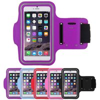 best armbands - Sports Running Armband Case for iPhone Good Quality Waterproof Armband Holder Pounch Best Cell Phone Cases Colors