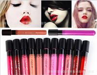 Wholesale MeNow Lip Gloss Lipsticks Top Liquid Lipstick No Stain with Cups MN Cosmetics Long Lasting Mist Liquid Lipgloss Lip Balm pieces colors