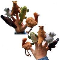 Cinco Australia animales títeres, los koalas y los canguros de cocodrilo ornitorrinco Uem suaves juguetes de peluche para los niños