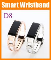 Wearable caller id watch phone - Fashion D8 Bluetooth Smart Bracelet phone Caller Display Vibration Alert Caller ID Time OLED Display Wireless Bluetooth Wrist Watch OTH051