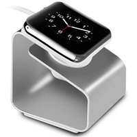 alloy stations - Aluminum Alloy mm mm iwatch Charger Stand Holder Charging Dock Station Accessories For Apple Watch iWatch Sport Edit