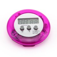 Wholesale Mini Digital LCD Kitchen Timer Cooking Stopwatch Timer Alarm Mini Round LCD
