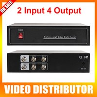 video distributor - High Definition HD Video Splitter Distributor Points Output Support AHD HDCVI HDTVI Camera BNC In Out Distance Max To m