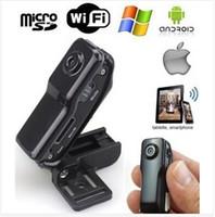 Wholesale WiFi camera Mini DV Wireless IP Camera wifi camcorder Video Record wifi hd Remote by Phone mini camera MD81S
