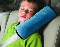 Wholesale Child car seat belt cover shoulder pad sets plus car cartoon cute plush pillow to sleep belts Shoulders