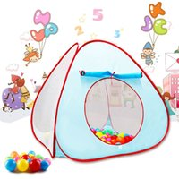 Cheap FREE SHIPPING PORTABLE FOLDING OUTDOOR & INDOOR CHILDREN PLAY GAME HOUSE KIDS POP UP TENT BALL PIT HOUSE JOUET FOR BABY