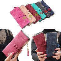 square fashion - New Arrivals Women Lady Card Holder Long Wallet Handbag Purse Faux Leather Fashion EG9