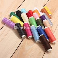 Wholesale New Rolls Assorted Colour Spools Finest Quality Cotton Thread For Sewing Machine