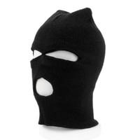 Wholesale High Quality Fashion Style Black Balaclava Sas Cs Style Winter Wind Ski Hat For Men Women Cap Hole Mask Neck Warmer