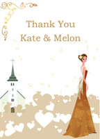 thank you cards - Wedding Invitations Cards Free Personalize Printing Wedding Thank You Cards Free Envelope