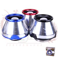 apc racing - KYLIN STORE Universal turbo high flow cone shaped filter racing cold apc air intakes aluminum air filter