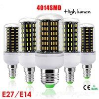 led ic - Smart IC E27 E14 LED Bulb V V Hight Brightness SMD LED LED LED LED LED Transparent Cover Mini LED Corn Lamp