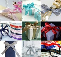 Wholesale customized inhce DIY ribbons printed for Weeding decoration
