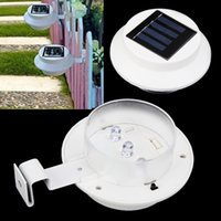 Wholesale Solar Powered LED Light Fence Doorway Wall Garden Home Eave Lamp for Outdoor Lighting Decoration dandys