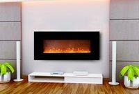 Parete (montaggio a parete o inserire la parete è disponibile) camino / decorazione fiamma camino elettrico