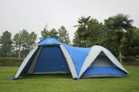 Wholesale 1hall bedroom persons large family party tent for outdoor camping use