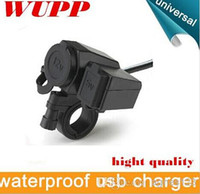 Wholesale WUPP motorcycle waterproof usb charger USB motorcycle charger motorcycle waterproof usb hight quality top sale