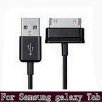 Wholesale 2016 M FT USB Sync Data Cable Charger Charging Line For Samsung Galaxy Tab P3100 P5100 Note N8000 Tab P3200 P1000 Tablet PC DHL