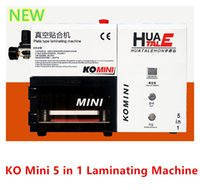Universal machine - 2015 Newest KO Mini LCD OCA Vacuum Laminating Machine in with Vacuum Pump Air Compressor No Mould No Need Remove Bubble