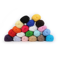bamboo yarn lot - pieces Knitting Yarn Natural Soft Bamboo Cotton Skein High Quality Baby Yarn dandys