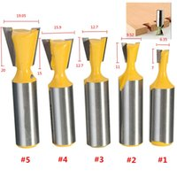 best router bits - Best Promotion inch Shank Straight Rail Stile Router Bit Woodworking Chisel Set Type Dovetail Tenon Cutter Tlade